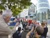 Inauguration de la fresque Spirou aux Marolles