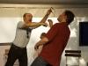 Lewis Trondheim et Benoit Feroumont en pleine démonstration...