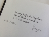 Pedrosa signe son Carnet du Portugal