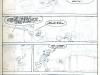 """Page 1 du scénarimage de """"la maison dans la mousse"""""""