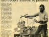 Mise scène avec la complicité de Jean-Claude pour Ouest France en 1974