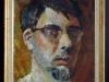 Autoportrait de Fournier réalisé pendant ses études de dessin