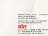 Verso Invitation pour une exposition BD à Saint Brieuc (22) 1979
