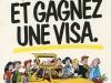 Illustration pour la Promotion de la Visa agence RSCG