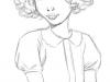 Hanna, crayonnés