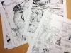 Dent d'ours tome 2, les planches d'Alain Henriet