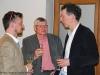 Sylvain Savoia en discussion avec son éditeur, Louis-Antoine Dujardin
