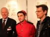 Spirou avec Jean-Paul Philippot, l'administrateur-général de la RTBF