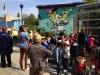 Inauguration de la fresque MARSUPILAMI à Bruxelles
