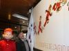 Janry et Spirou devant la fresque