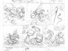 ''La Grosse Tête'', Le Spirou de Tehem, Makyo et Toldac : crayonné