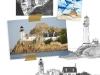 La Mémoire de l'eau : recherches pour l'île du phare