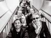 es auteurs de Spirou de haut en bas et de gauche à droite : Yoann, Vehlmann, Janry, Dan, Parme, Bravo, Schwartz et Le Gall.