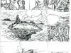 Les Brigades du temps tome 3 : storyboard de la planche 14