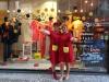 Les commerçants de la rue de Dampremy à Charleroi fêtent les 75 ans de SPIROU.