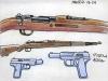 Les Guerres silencieuses (recherches) : armes