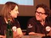 Delphine Biscaye (Chef de projet) et Gildo Pallanca Pastor (Président de Venturi Automobiles)