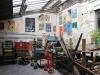 Cour d'entrée d'Idem, imprimerie d'art à Paris
