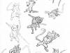 Recherches graphiques : Ninjacats