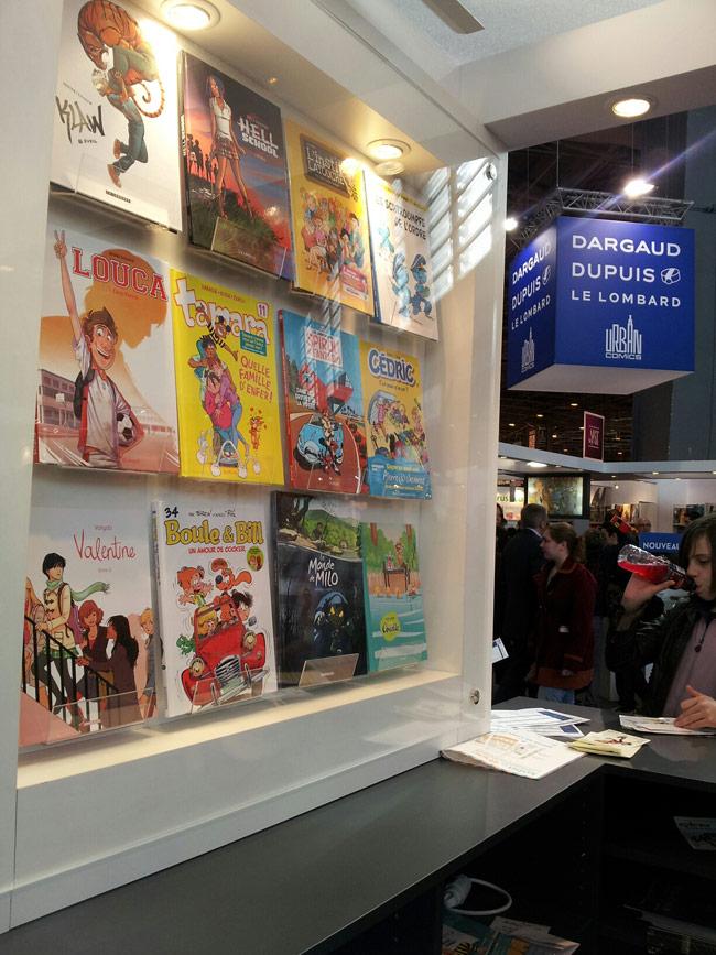 Salon du livre de paris tag archives blog dupuis - Le salon du livre paris ...