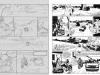 Cavale, tome 3 : crayonné et encrage de la planche 13