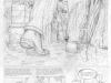 Théodore Poussin, Cocos nucifera island : planche 6 crayonnée