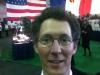 La haie d'honneur des drapeaux des 51 états américains qui nous accueillait.