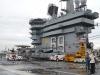 À bord de l'USS Dwight D. Eisenhower