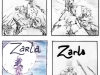 Zarla : couvertures proposées pour le Journal de Spirou