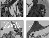 Zarla, tome 5 : recherche pour la couverture
