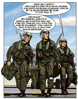 Buck Danny - les trois héros