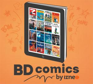 Premier mois d'abonnement offert sur BDcomics.IZNEO !