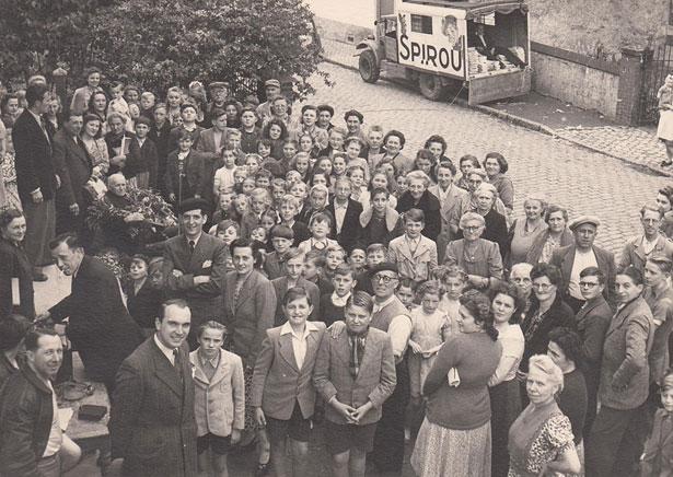 Distribution du Journal de Spirou durant les premières années