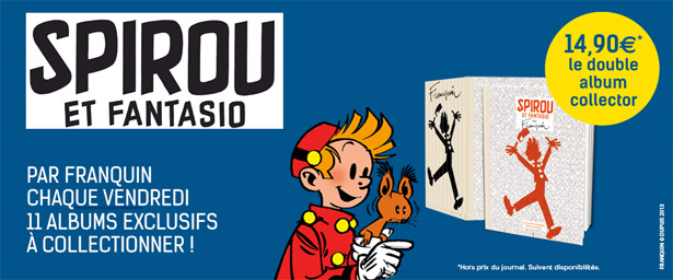 Spirou et Fantasio : La collection du Soir
