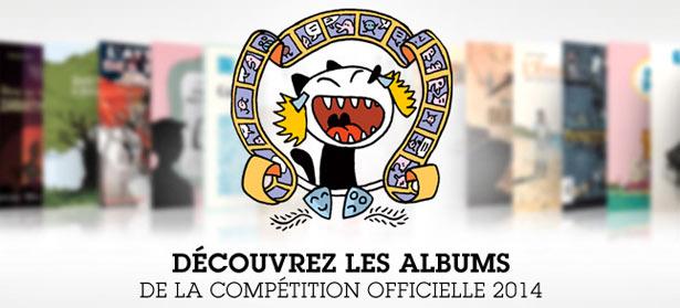 Angoulême 2014, la sélection officielle