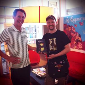 Wormworld Saga, l'éditeur aux côté de l'auteur Daniel Lieske
