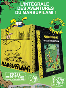 Hachette lance la COLLECTION MARSUPILAMI