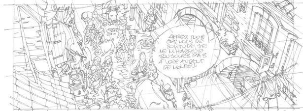 SEULS, tome 9 : crayonné
