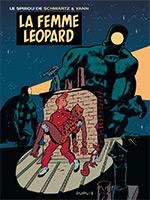 Le Spirou de Schwartz et Yann : La femme Léopard