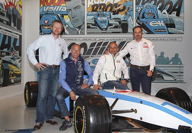 Michel Vaillant célèbre le retour du championnat FIA-WTCC à Francorchamps !