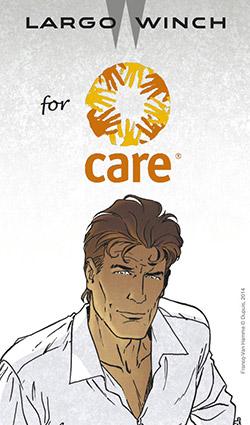 Largo Winch lance une collecte pour l'O.N.G. CARE
