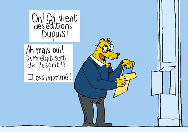 Benoît Feroumont : Un courrier qui remonte le moral.