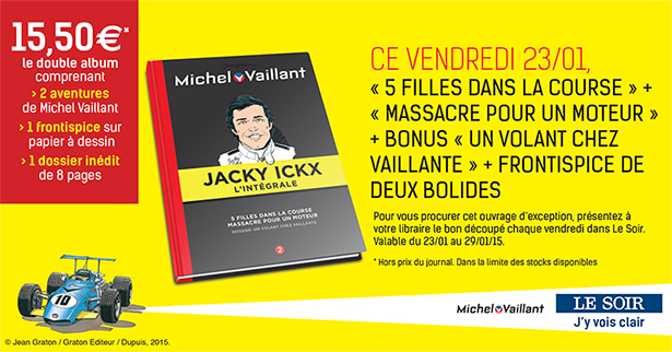 Collection Michel Vaillant et Jacky Ickx (LE SOIR), tome 2