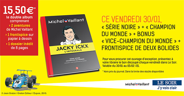 Collection Michel Vaillant et Jacky Ickx (LE SOIR), tome 3