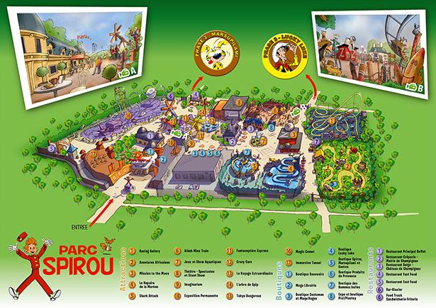 Master-plan du Parc Spirou