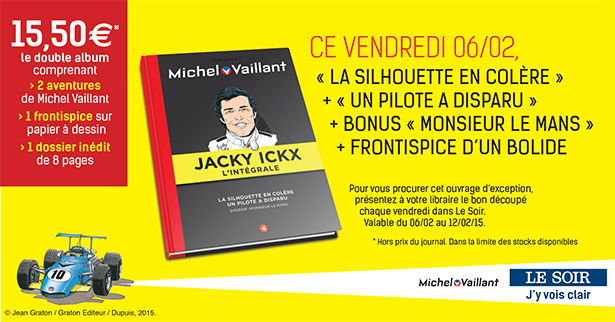 Collection Michel Vaillant et Jacky Ickx (LE SOIR), tome 4