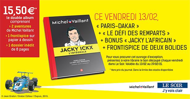 Collection Michel Vaillant et Jacky Ickx (LE SOIR), tome 5