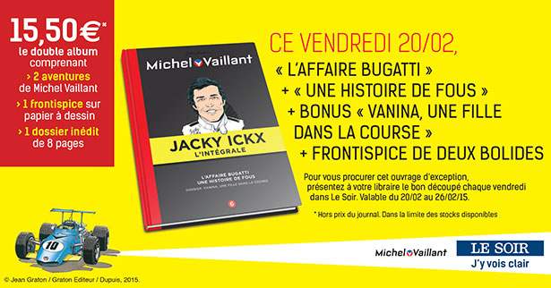 Collection Michel Vaillant et Jacky Ickx (LE SOIR), tome 6
