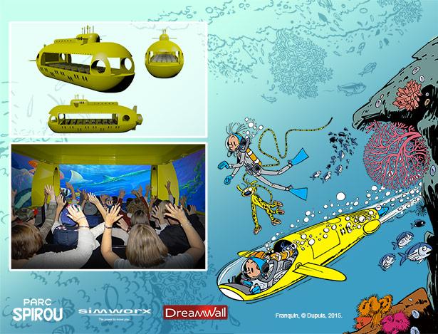 Parc Spirou : Aventures sous-marine