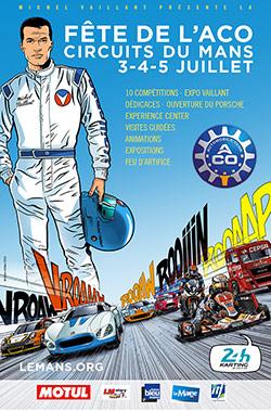 Michel Vaillant vedette de la fête de l'ACO les 3-4-5 juillet au Mans